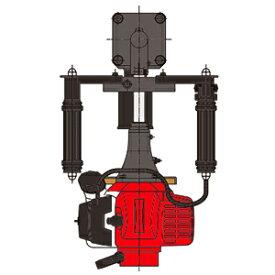 山田機械工業 ビーバービッグハンマー 杭打機(くい打ち) RP-041WH (ガイドパイプΦ65×100・アンビルΦ65付) 【在庫有り】