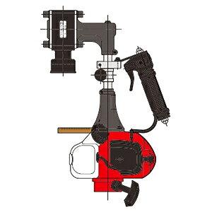 山田機械工業 ビーバービッグハンマー 杭打機(くい打ち) RP-041S (RP-042S)(ガイドパイプ・アンビル Φ65付) [在庫有り]