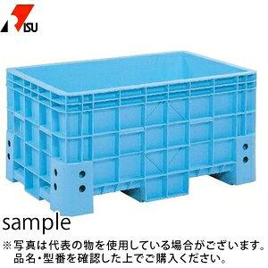 岐阜プラスチック工業 スーパーボックス 500 B:ブルー [送料別途お見積り] [個人宅配送不可]