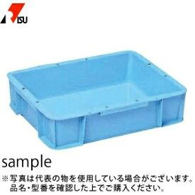 岐阜プラスチック工業 パーツボックス(ベタ目ボックス) ST-14C B:ブルー [個人宅配送不可]