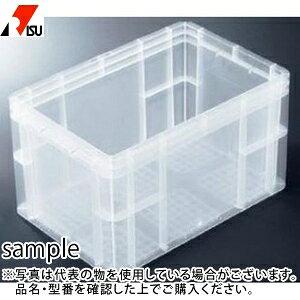 岐阜プラスチック工業 パーツボックス(ベタ目ボックス) TP-343B透明 C:クリア [個人宅配送不可]