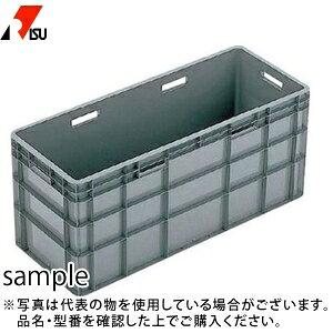 岐阜プラスチック工業 パーツボックス(ベタ目ボックス) TP-384L GY:グレー [個人宅配送不可]