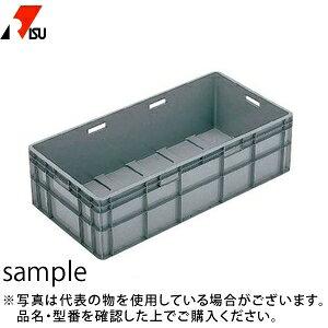岐阜プラスチック工業 パーツボックス(ベタ目ボックス) TP-493L GY:グレー [送料別途お見積り] [個人宅配送不可]