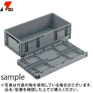 岐阜プラスチック工業 パーツボックス(ベタ目ボックス) TPO-362 GY:グレー [個人宅配送不可]