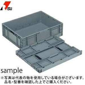 岐阜プラスチック工業 パーツボックス(ベタ目ボックス) TPO-462 GY:グレー [個人宅配送不可]