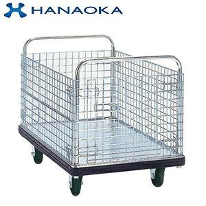 花岡車輌(HANAOKA) DA-BW スチール製 カゴ台車 600×900 ダンディエース