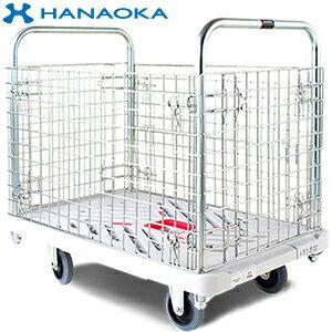 花岡車輌(HANAOKA) プラ台車カゴ台車 W605*D935 300kg XA-BW [個人宅配送不可]