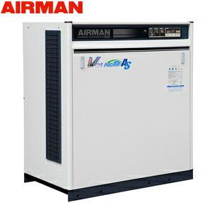 北越工業(AIRMAN) モータコンプレッサ SAS15VD 空冷タイプ 空気量2.8〜2.35m3/min 大型商品に付き納期・送料別途お見積り