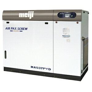 明治機械製作所 スクリュコンプレッサー MAS37PVD-8 [重量物]