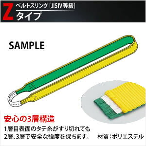 田村総業 一般玉掛け用ベルトスリング (エンドレス形ナイロンスリング) Z-4N-75X5.00m