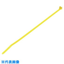 ■パンドウイット ステンレス爪ロック式ナイロン結束バンド 黄色 幅2.4MM 長さ201MM 1000本入り BT2M-M4Y〔品番:BT2M-M4Y〕[TR-1005798]