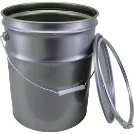■JP テーパー ハンドタイプペール缶 BT-20シルバー(アリ) 20L〔品番:90520-10〕[TR-1009392 ]【送料別途お見積り】