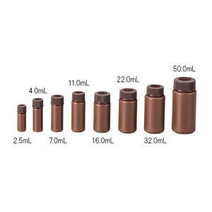 ■AS PPバイアル瓶PV-5・褐色〔品番:2-9630-06〕[TR-1016904][送料別途見積り][法人・事業所限定][掲外取寄]