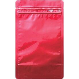 ■セイニチ 「ラミジップ」 アルミカラースタンドタイプ 赤 160×120+35 (50枚入)[品番:AL-1216R][TR-1026027]