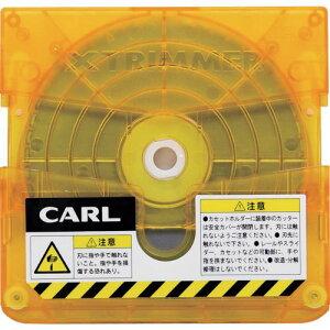 ■カール 裁断機 トリマー替刃 ミシン目[品番:TRC-610 ][TR-1031836]