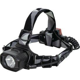 ■日動 充電式LEDヘッドライト バックライト付〔品番:SHL-8W-BL-CH〕[TR-1099009]
