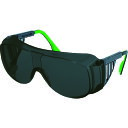 ■UVEX 一眼型遮光メガネ ウベックス9161 (遮光度#6)〔品番:9161146〕[TR-1145191]