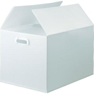 ■TRUSCO ダンボールプラスチックケース 5枚セット B3サイズ 取っ手穴あき 半透明 〔品番:TDP-B3-5TM〕[TR-1145740]【大型・重量物・個人宅配送不可】【送料別途見積もり】