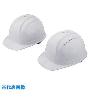 ■トーヨーセフティ 特大サイズヘルメット 白〔品番:NO.385F-OT-WH〕[TR-1184630]