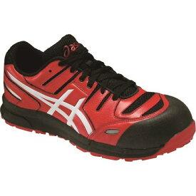 ■タスコ 安全作業靴 25.5CM 赤〔品番:TA963GR-25.5〕[TR-1429262]【個人宅配送不可】
