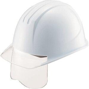 ■タニザワ エアライト搭載シールド面付ヘルメット 帽体色 ホワイト〔品番:161VJ-SH-W3V1〕[TR-1465171]