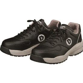 ■ダイナスティ 安全作業靴 ダイナスティエア ブラック 27.5CM〔品番:WO22275〕[TR-1473379][送料別途見積り][法人・事業所限定][掲外取寄]