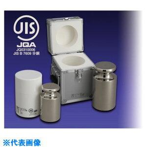 ■VIBRA JISマーク付OIML型円筒分銅(非磁性ステンレス)1KG F2級〔品番:F2CSO-1KJ〕[TR-1528258][送料別途見積り][法人・事業所限定][外直送]