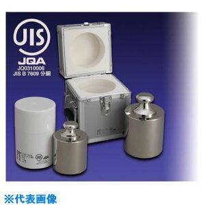 ■VIBRA JISマーク付基準分銅型円筒分銅(黄銅クロムメッキ)2KG M1級〔品番:M1CBB-2KJ〕[TR-1529876][送料別途見積り][法人・事業所限定][外直送]