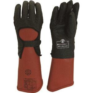 ■ワタベ 高圧ゴム手袋(3.5kV用)保護カバー付〔品番:S510-734-L〕[TR-1581398][送料別途見積り][法人・事業所限定][外直送]