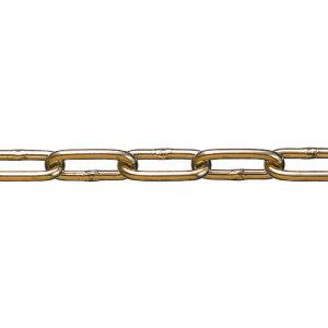 ■水本 黄銅チェーン BR-5 長さ・リンク数指定カット 2.1〜3M〔品番:BR-5-3C〕[TR-1599736][送料別途見積り][法人・事業所限定][メーカー取寄]