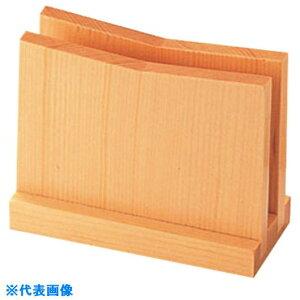■TKG えいむ 木製メニュー立て BS−8 白木 〔品番:PEI2501〕掲外取寄[TR-1927153]
