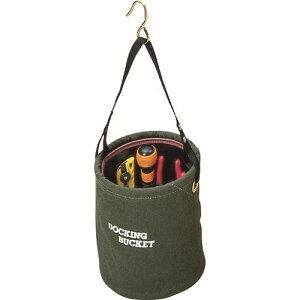 ■コヅチ 10号(国防)防水帆布 ドッキングバケット200パイ〔品番:KBD-20BOD〕[TR-2160461][送料別途見積り][法人・事業所限定][外直送]