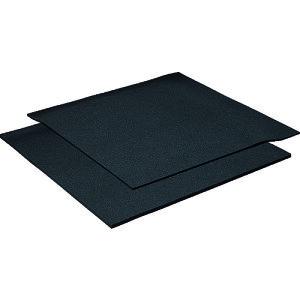 ■イノアック 発泡ウレタンシート 吸音性シート 黒 20×1000×1000[品番:F2-20][TR-2192161]