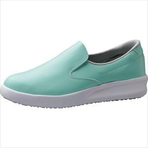 ■ミドリ安全 超耐滑作業靴 ハイグリップ・ザ・フォース NHF−700 グリーン 22.0cm[品番:NHF700GN22.0][TR-2491529][送料別途見積り][法人・事業所限定][掲外取寄]
