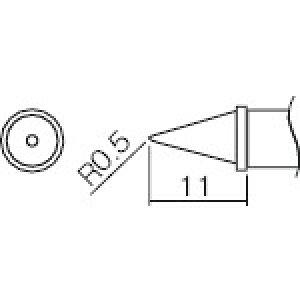 ■白光 こて先 0.5WB型[品番:T12-WB2][TR-2977036]