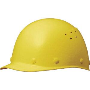 ■ミドリ安全 FRP製ヘルメット 野球帽型 通気孔付 イエロー〔品番:SC-9FVRA-Y〕[TR-4228685]