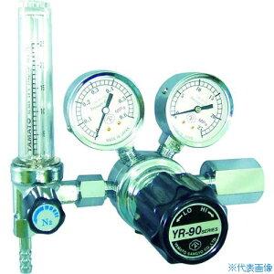 ■ヤマト 汎用小型圧力調整器 YR-90F(流量計付)〔品番:YR-90F-R-12FS-30-H2-2205〕[TR-4346807]