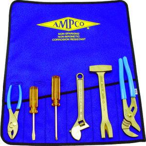 ■Ampco 防爆6ピース工具セット〔品番:AMCM-47〕[TR-4985974]