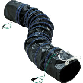 ■TRUSCO フレキシブルダクト 帯電防止タイプ アース付 Φ320X長さ5m〔品番:RFA-320〕[TR-7657170]