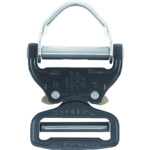 ■ALPIN COBRA バックル 45MM Dリング シルバー[品番:FX45AVD][TR-7669429]