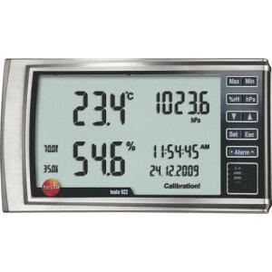 ■テストー 高精度卓上式温湿度・気圧計  〔品番:TESTO622〕[TR-7736908]