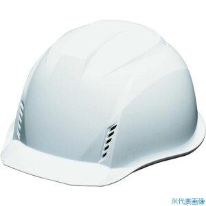 ■DIC AA16-W-HB型ヘルメット 白〔品番:AA16-HB-FV-W〕[TR-8192389]