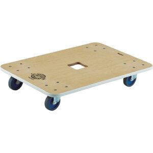 ■TRUSCO 木製平台車 ジュピター 800X550 φ75 200kg[品番:JUP800200][TR-8194966]