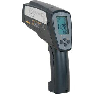 ■シンワ 放射温度計H_デュアルレーザーポイント機能付_放射率可変タイプ〔品番:73100〕取寄[TR-8252446][送料別途見積り][法人・事業所限定][掲外取寄]