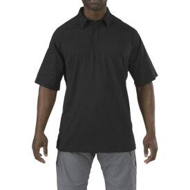 ■5.11 半袖 ラピッドパフォーマンスポロ ブラック XS〔品番:41018-019-XS〕[TR-8369359]