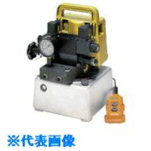 ■エナパック 単相100V小型電動油圧ポンプ〔品番:PE1700-VDRJ〕[TR-8520151][送料別途見積り][法人・事業所限定][掲外取寄]