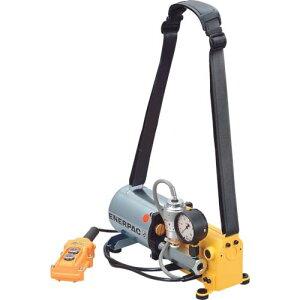■エナパック 単相100Vポータブル小型電動油圧ポンプ〔品番:PE301HWC〕[TR-8520155][送料別途見積り][法人・事業所限定][掲外取寄]