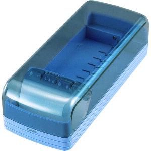 ■カール 名刺整理器 No.870E−B ブルー 収容枚数800枚[品番:NO.870EB][TR-8553208]