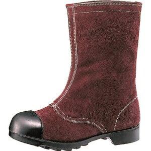 ■ミドリ安全 熱場作業用安全靴 つま先ガード付 W344 23.5cm[品番:W34423.5][TR-8579266][送料別途見積り][法人・事業所限定][掲外取寄]