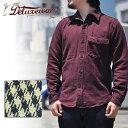 デラックスウエア DELUXEWARE HV-27 STAR OF DAVID 千鳥格子 シャツ シャツジャケット ネルシャツ